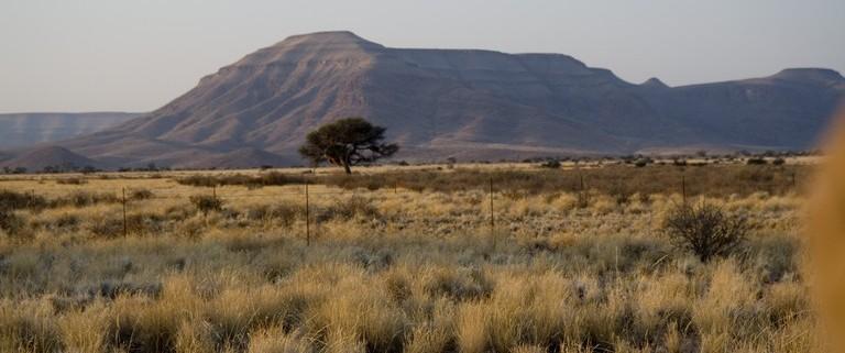 Montañas en el Namib