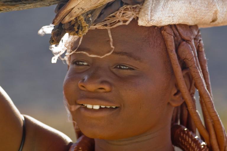 Namibia - himba en el Kaokoland