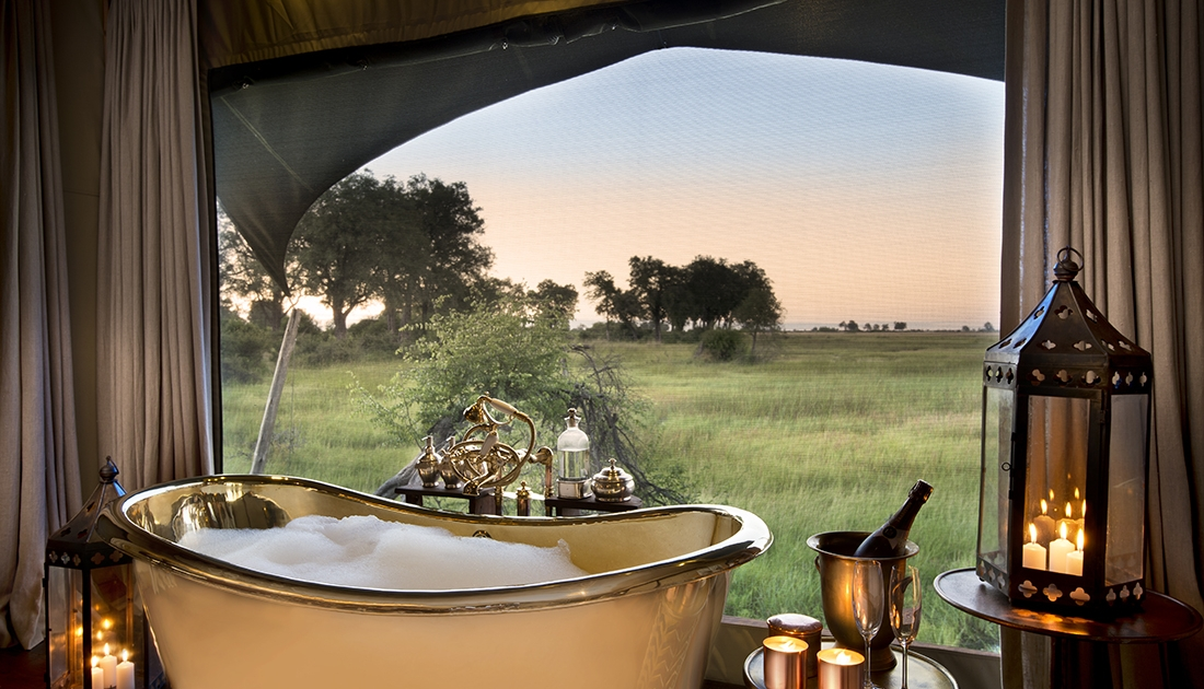 Vista desde el baño - Duba Plains