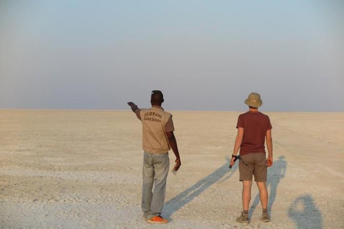 Makgadikgadi NP - Salar de Ntwetwe
