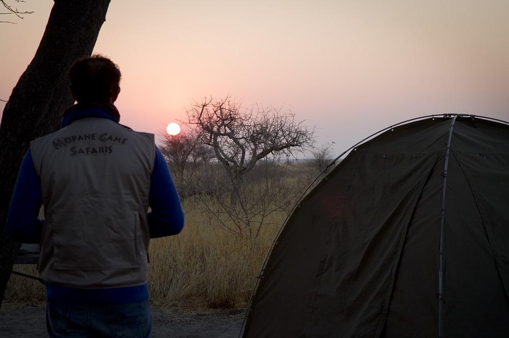 Botswana-amanecer