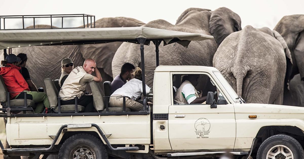 Safari Campamento Lujo Botswana