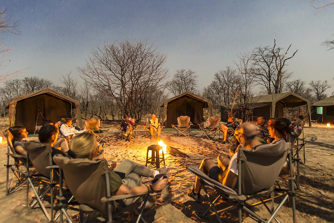 Safari Campamento Lujo Mopane