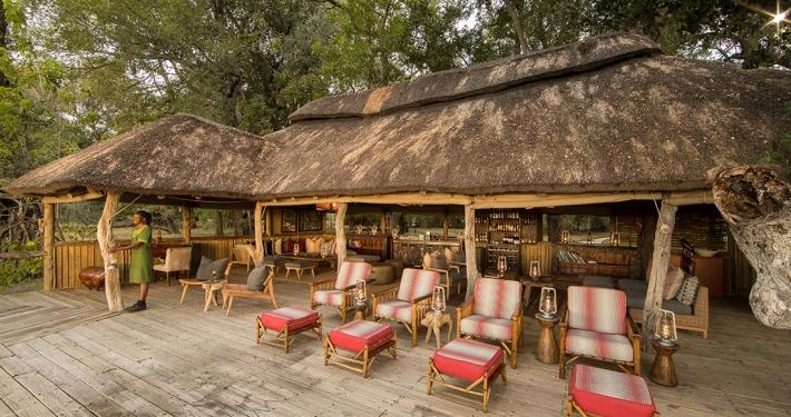Zona común en Camp Xakanaka