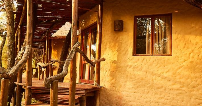 Vista exterior de las habitaciones estándar