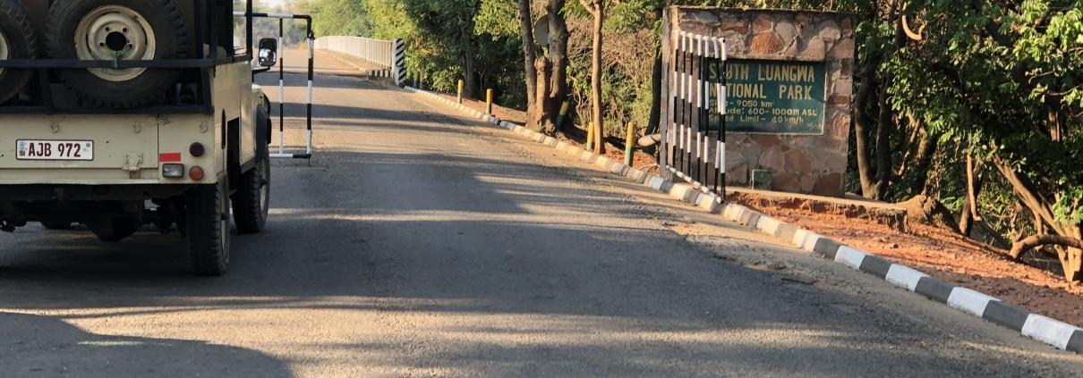Entrada a South Luangwa
