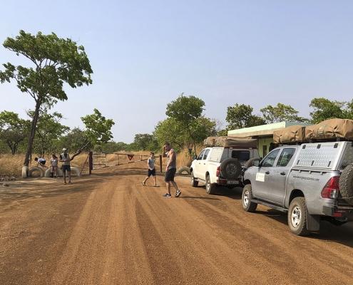 Zambia, entrada a Kafue
