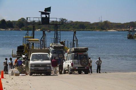 Ferry Kazungula - Livingstone