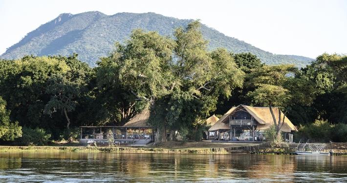 Chiawa Camp, vista desde el río