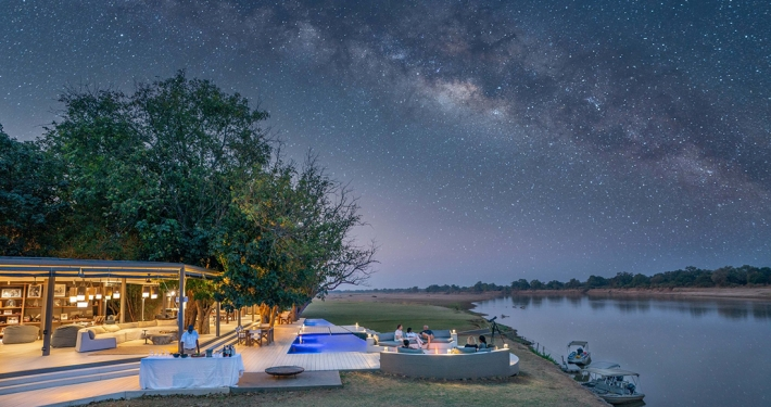 Cúpula de estrellas en South Luangwa