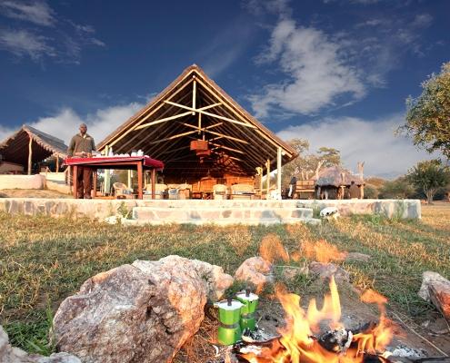 Konkamoya Lodge_desayuno al aire libre