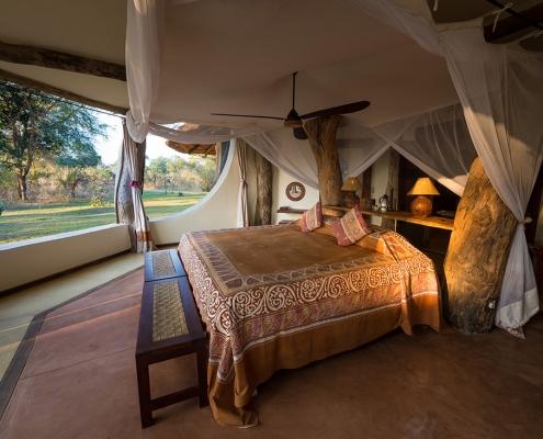 Luangwa Safari House habitación
