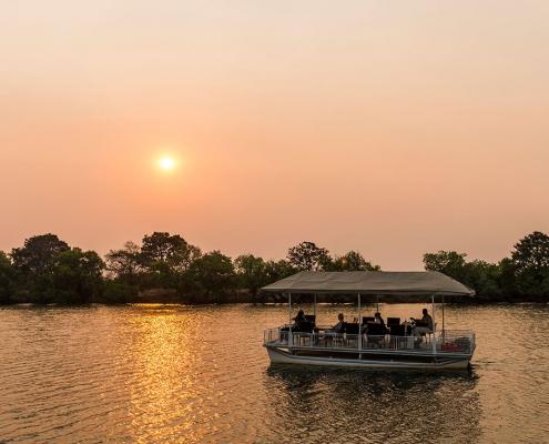 Crucero en el Kafue - Mukambi Safari Lodge