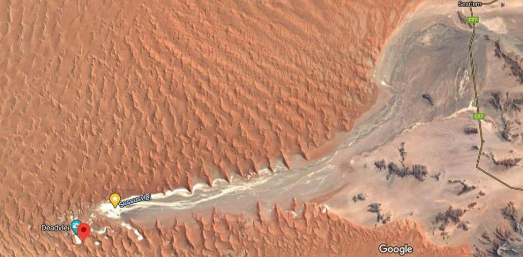 Sossusvlei - Desierto del Namib