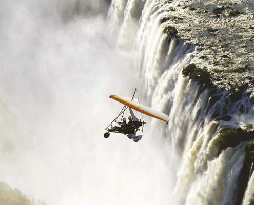 Microflight - Avani Victoria Falls Resort
