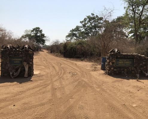 Hacia Kafue: salida de Lower Zambezi