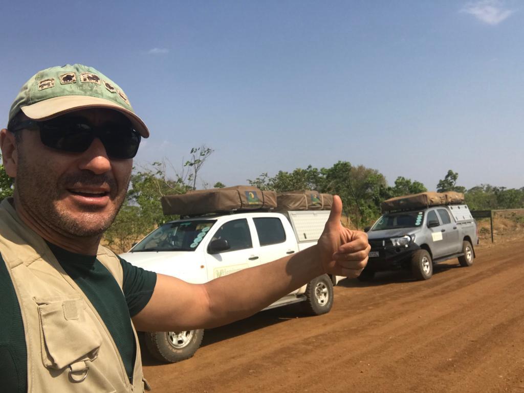 Viaje Zambia - en el centro de Kafue
