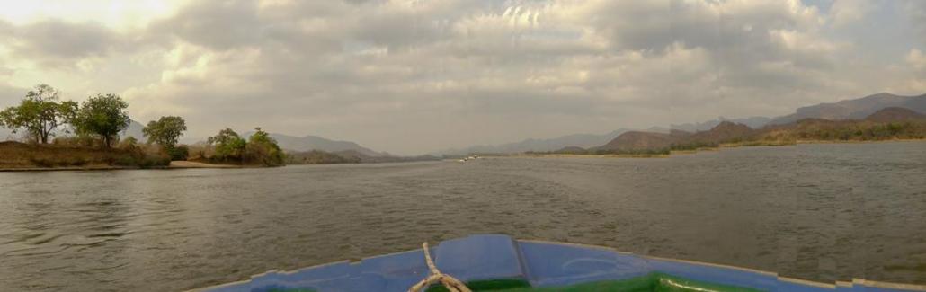 Navegando el Zambezi