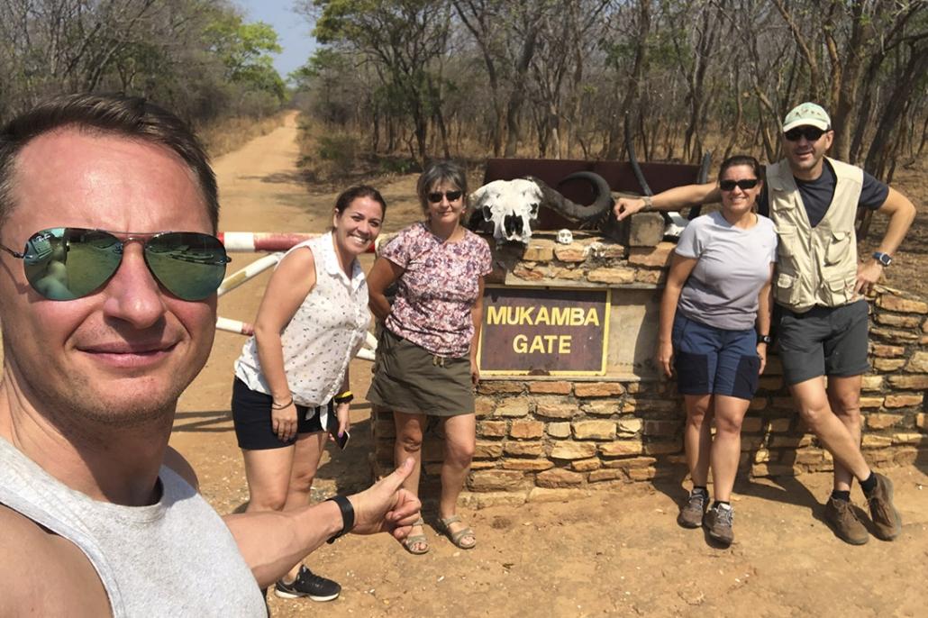 Viaje Zambia - ruta a Lower Zambezi