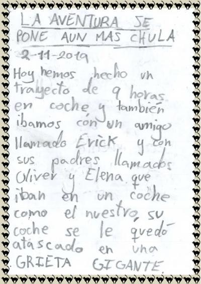 Diario de Hugo viaje Zambia