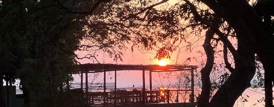Hacia Kafue - Amanecer en Chiawa - Lower Zambezi