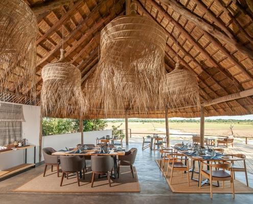 Comedor - Kafunta River Lodge