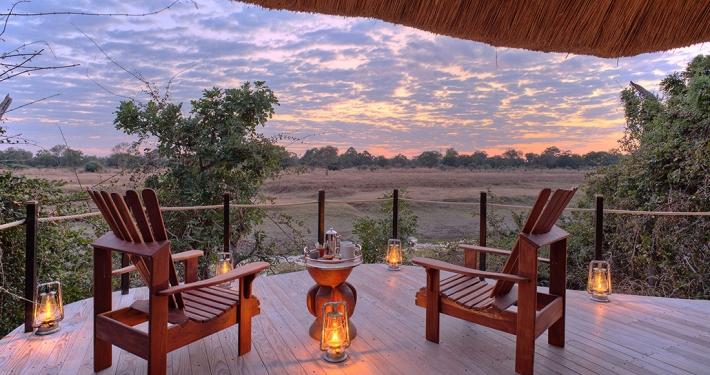 Vistas de Soutj Luangwa desde Lion Camp