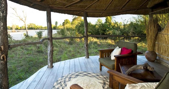 Vistas al río Luwi, Time + Tide Nsolo