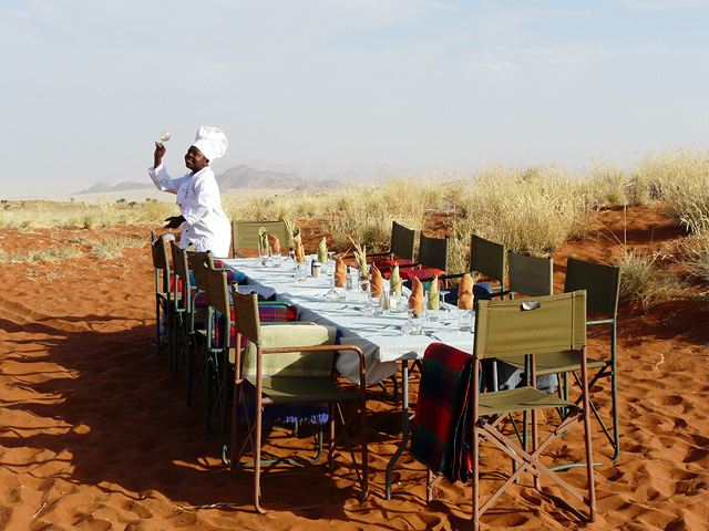Trekking en el Namib