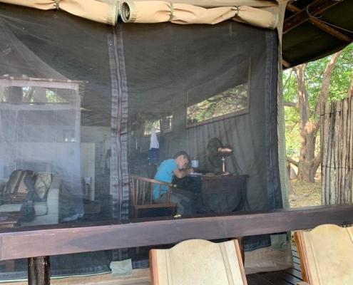 2 días en KaingU - El escritor