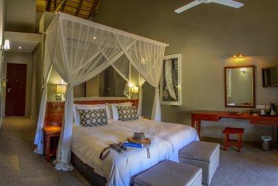 Chobe Bush Lodge habitación