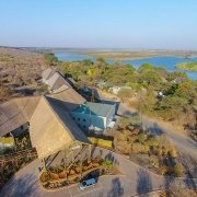 Vista aérea Chobe Bush Lodge