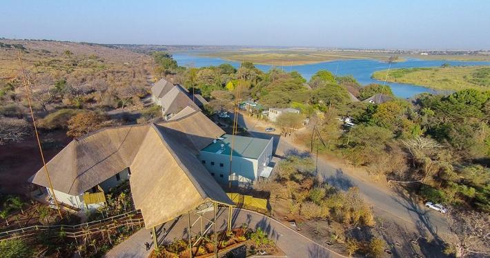 Vista aérea Chobe Bush Lodge