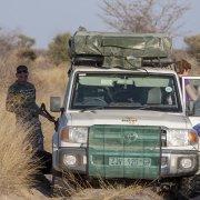 En el Kalahari
