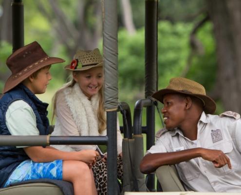 Safari Botswana en familia